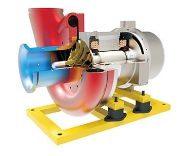 空气悬浮电机